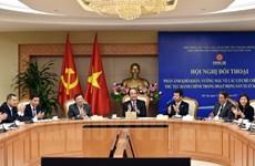 越南政府与日本企业对话 解决在机制政策方面的困难