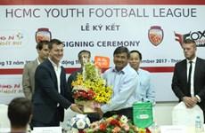 胡志明市足协与越南Fox Football学院签署合作协议