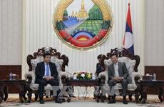 老挝总理通伦·西苏里高度评价老越两国合作委员会的作用