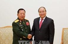 越老两国国防部合作形式多样合作成果丰硕