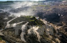 政府总理批准越南煤炭矿产工业集团重组提案