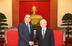 越南愿与摩洛哥加强双边合作