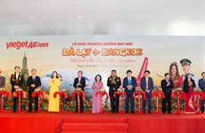 越捷航空公司正式开通越南大叻至泰国曼谷直航航线