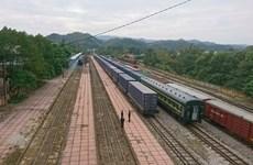越南海防前往中国开远国际货运班列正式开行