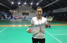 2017年意大利羽毛球国际赛:越南选手阮垂玲夺冠