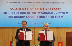 越南与缅甸加强友好合作关系