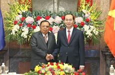 老挝人民革命党中央总书记、国家主席本扬致电感谢越南领导人