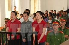 """安江省5名被告人因""""煽动宣传反越南社会主义共和国罪""""被判刑"""