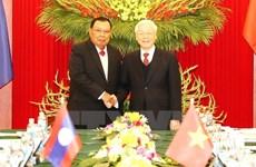 越老建交55周年:越老两国团结友谊不断得以巩固与发展