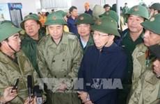 越南政府副总理郑廷勇: 把人的生命安全放在防抗强台风第一位