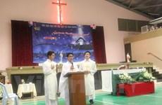 旅居马来西亚越南天主教徒共同庆祝2017年圣诞节