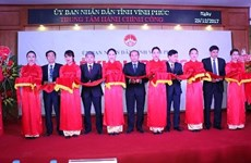 越南永福省公共行政服务中心正式落成