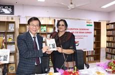 首个越南胡志明书房在印度新德里正式开张