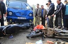 2018年元旦假期越南交通事故死亡人数67人