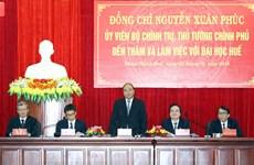 阮春福总理:顺化大学应采用国际教育标准面向世界培养创新型人才