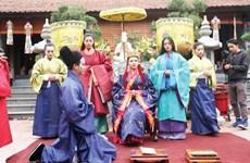 """""""编织一个王朝""""宫廷服饰和礼仪复原项目有助于向世界推介越南文化"""