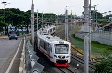 印尼启用首都雅加达市中心至国际机场专线列车