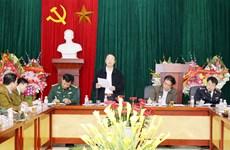 谅山省春节前夕加强打击边境走私和商业欺诈犯罪活动