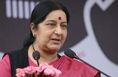 印度外交部长访问东盟三国 深化双边合作关系