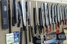 越南特警在胡志明市郊区查获一大型武器库