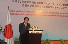 """日本向前越南驻日大使授予""""日出""""勋章"""