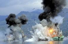 印尼官员促渔业部停止炸毁外国渔船