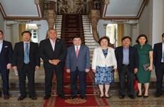 胡志明市领导会见希尔顿酒店集团和BRG集团领导