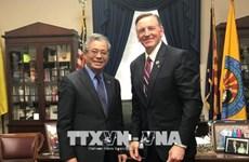 越美双方加强能源及防务领域的合作