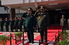 越柬两国国防部签署2018年度合作计划