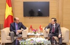 亚太议会论坛第26届年会:越南国会副主席冯国显会见摩洛哥代表团