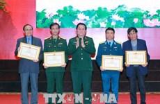 """""""越老柬三国团结战斗之情""""文学、艺术创作运动颁奖仪式举行 133个优秀作品获奖"""