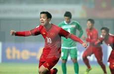国际媒体纷纷报道越南U23球队击败伊拉克U23球队的信息
