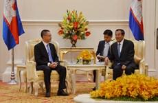 柬埔寨首相会见越南新任驻柬埔寨大使武光明