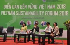 2018年越南可持续发展论坛:着力实现六大核心措施  实现繁荣增长