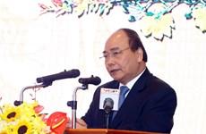 阮春福总理会见政府办公厅离退休干部代表