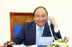阮春福总理通电话祝贺教练朴恒绪以及越南U23足球队