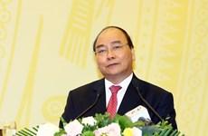"""阮春福总理:为共同利益提供参谋 坚决反对""""利益集团""""  坚持反腐倡廉"""