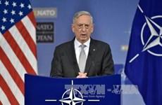 美国国防部长对越南进行正式访问