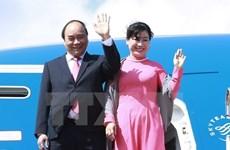 政府总理阮春福启程出席东盟与印度建立对话关系25周年峰会