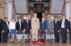 胡志明市将老挝的成功视为本市的成功