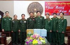 老挝华潘省军事指挥部探访乂安省军事指挥部 送上新春祝福