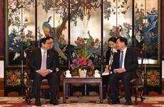 范明政对中国广东省进行工作访问