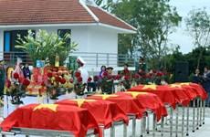 将在柬牺牲的94具越南志愿军及专家遗骸归国安葬