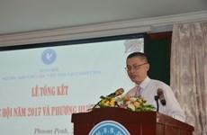 越裔柬埔寨人总会为加深两国和两个民族的友谊贡献智慧和力量