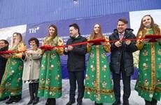 越南TH集团在俄罗斯建设的首个高产奶牛场正式竣工投产