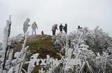 下雪天气 母山旅游景区游客量猛增