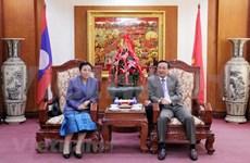 老挝人民革命党中央对外部部长:越南的成就和胜利为老挝的发展注入动力