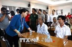阮氏金银等党和国家领导人分赴各地开展新春走访慰问活动