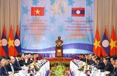 老挝媒体高度评价越老政府间委员会第40次会议的成果