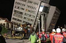 中国台湾花莲地震:尚未发现越南公民在地震中遇难